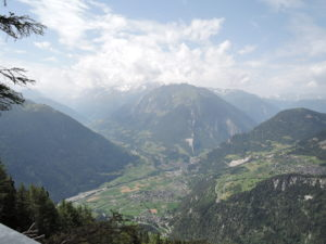Panorama from La Chute du Bisse