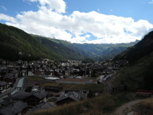 Zermatt - the end of Haute Route