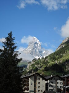 Matterhorn - as seen from Zermatt