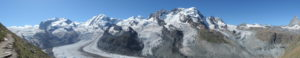 180degree view from Rotenboden.