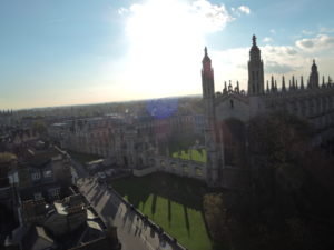 King's College viewed from the tower