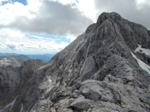 Triglav summit ridge