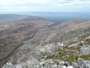 Chalamain Gap circuit - Creag an Leth-choin summit